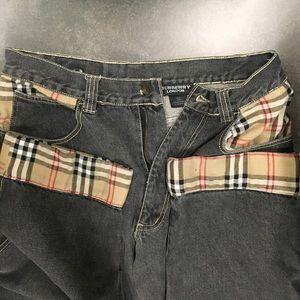 Burberry London Mens jeans nova check edges 34-32